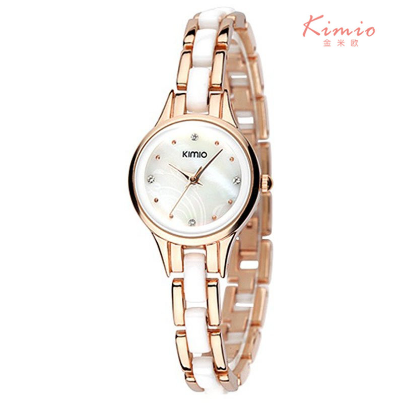 2016Kimio top brand luxury wrist font b watch b font for women Rhinestone crystal fashion ladies