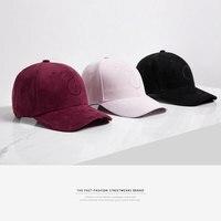 אינפלציה 2017 כניסות חדשות כובע זוג שחור הצבע מוצק מתכוונן בייסבול שווי לשני המינים פנאי אופנה מקרית HAT Snapback כובע