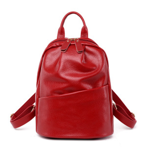 Image 1 - Women Backpack Genuine Leather Backpack Women 2017 Hotsale School Bags for Teenagers Fashion Backpacks for Teenage Girls