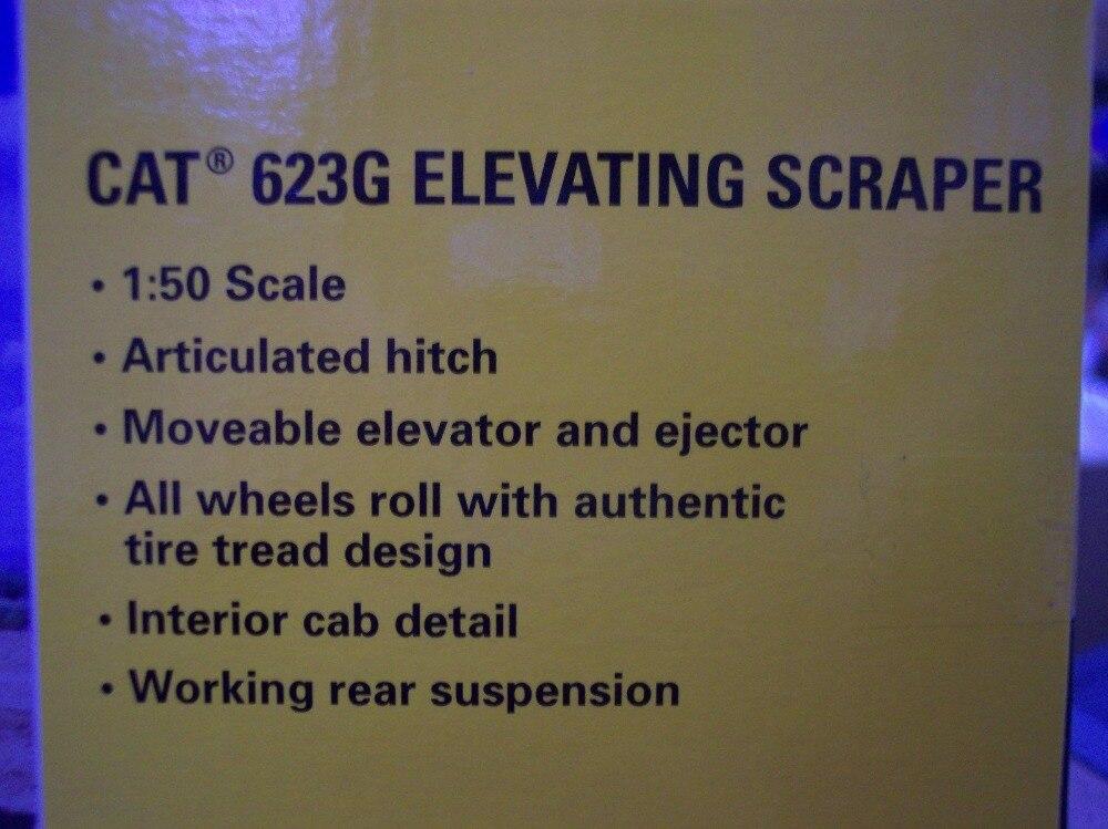 Norscot 1:50 Caterpillar CAT 623G machines d'ingénierie grattoir élévateur moulé sous pression jouet modèle 55097 pour Collection, décoration - 6