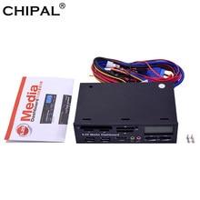 CHIPAL oryginalny pakiet wielofunkcyjne USB 3.0 Panel przedni 5.25