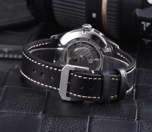 Luxury Mechanical Parnis Watch