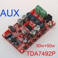NUEVA TDA7492P de calidad superior 50 W + 50 W Inalámbrica Bluetooth 4.0 Receptor de Audio Digital de potencia Amplificadores de ALTA FIDELIDAD/amplificador junta C5-003