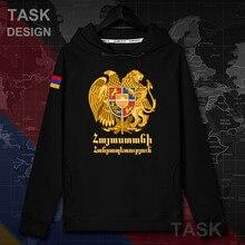 A arménia Armênio BRAÇO AM mens pullovers do hoodie hoodies homens capuz casaco de roupas streetwear hip hop treino Outono nação 20