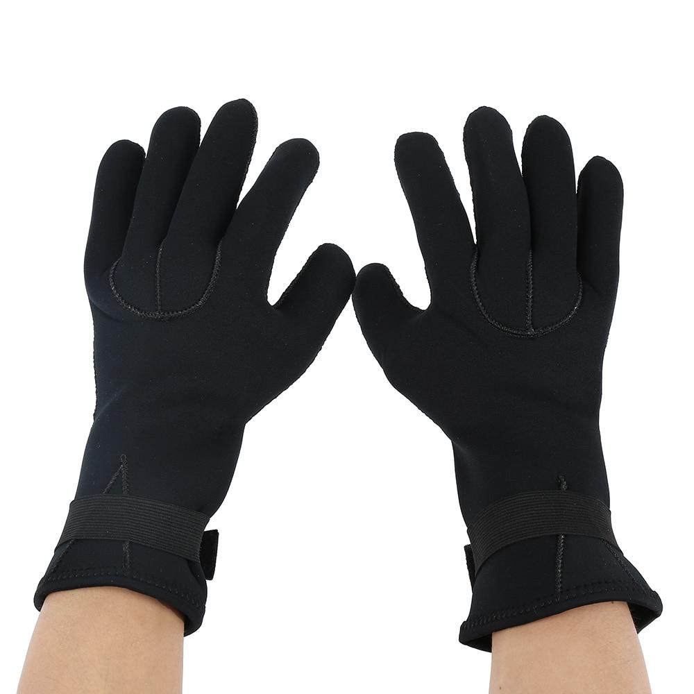 Befaith Unisex impermeable 3 mm 7 dedos estiramiento neopreno guantes para  el buceo de natación 67d37860dc2