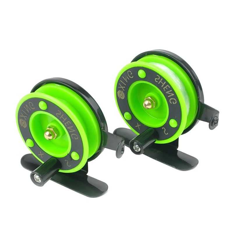 Image 3 - Winter Ice fishing wheel Mini fishing reel  reel small wheel front wheel Green Color TX005-in Fishing Reels from Sports & Entertainment