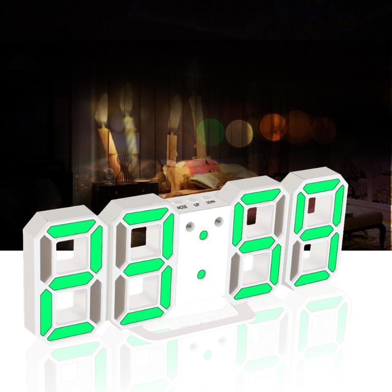Digital LED Table <font><b>Clock</b></font> 24 or 12-Hour Display Snooze Alarm <font><b>Clock</b></font> 8888 Display Desktop Luminous Despertador Wall <font><b>Clock</b></font>