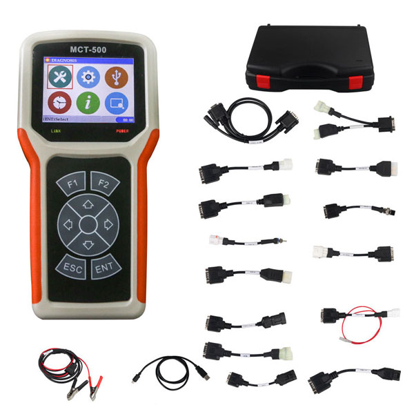 MCT500 Universal Motorcycle Diagnostic Scanner MCT 500 MCT 500 Motorcycle diagnostic tool Support Multi languages