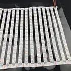 SK9822 30*30 pixels (taille du panneau: 50 cm * 50 cm) rvb couleur Flexible LED Pixel panneau lumineux DC5V; non étanche; PCB blanc