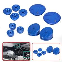 CNC אופנוע מסגרת חור כיסוי Caps מסגרת Plug ערכת מסגרת עבור R1200GS LC R 1200GS LC 2013 2020 R1250GS הרפתקאות R1250 GS 019 עד