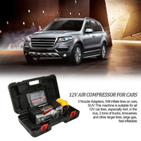 New Feature12V Automatic Digital Air Compressor 150Psi Car Tyre Inflator Kit Portable Air Compressor with Digital Display Gauge