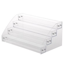 New Acrylic 7-2 Tiers Organizer Lipstick Jewelry Display Holder Nail Polish Rack M17C(China)