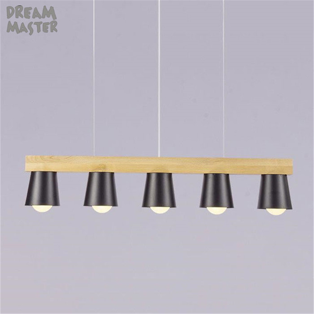 Modern Lustre LED Chandelier Lighting Black Metal Ceiling Chandeliers wood Lighting Dining Bedroom Hanglamp Suspension Luminaire ниссей манжета cuff ds 186 к тонометру модели ds 186
