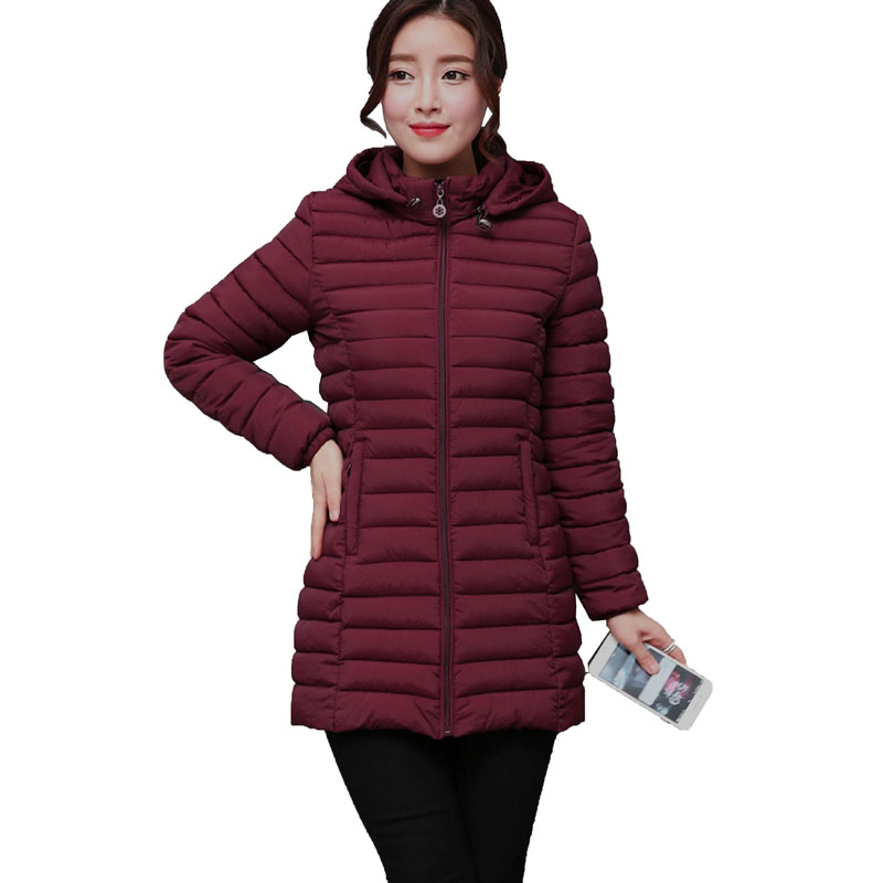 2017 Fashion new Winter Cotton Padded Jackets Women Slim Thick Solid Female Coat Parka Warm Winter Jackets Ladies Outerwear 3L18 new fashion winter cotton padded jacket women slim thick print female coat parka winter warm long jackets ladies overcoat q969