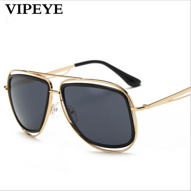 0caa85afd New Style Metal Mens Sunglasses Hollow Frame Round Face Sun Glasses For Men  And Women Vintage Sunglasses Wholesale