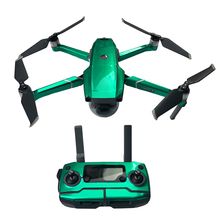 MAVIC 2 PRO Zoom Waterproof fluoresce luxury Stickers Skin Decals Film Body Remote Control Battery Arm tags for DJI Decal