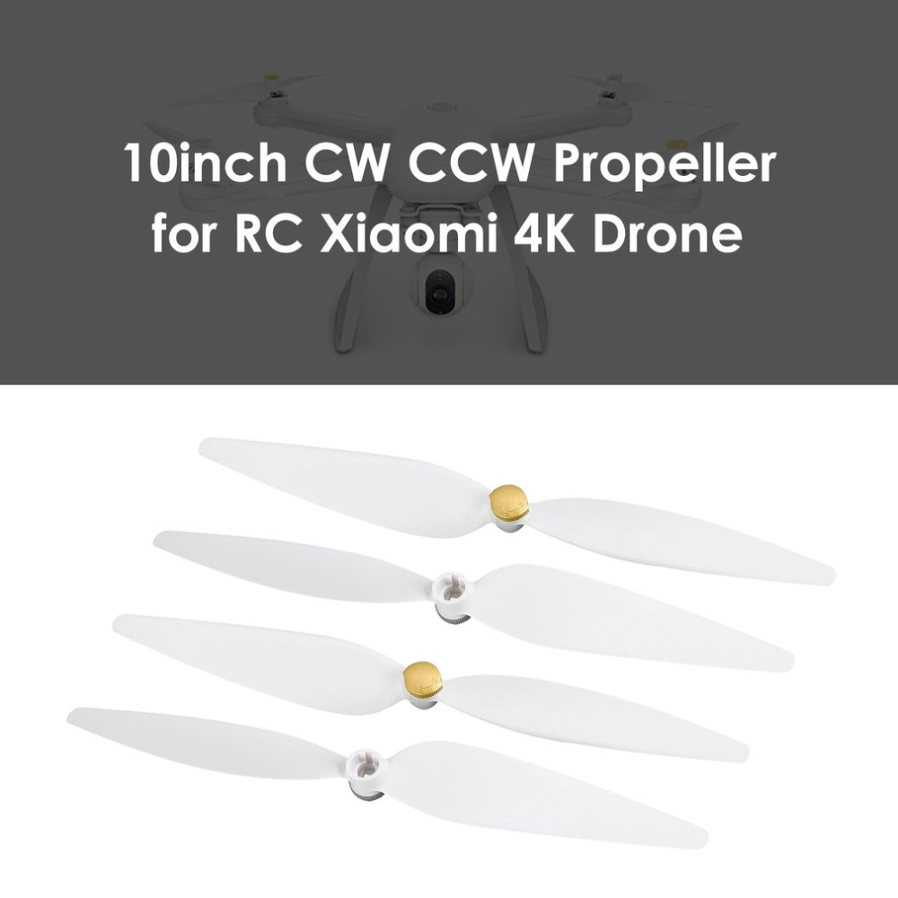 2 Pairs/Set Original CW +CCW Propeller Set For Xiaomi Mi Drone 4K Version FPV Drone RC Quadcopter Spare Parts Blades