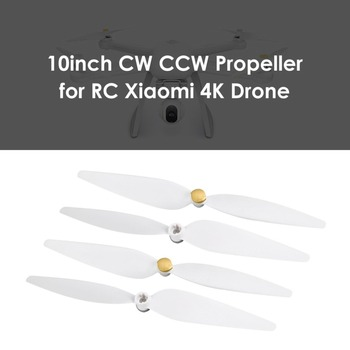 2 Pairs/Set Original CW +CCW Propeller set for Xiaomi Mi Drone 4K Version FPV Drone RC Quadcopter spare parts blades image