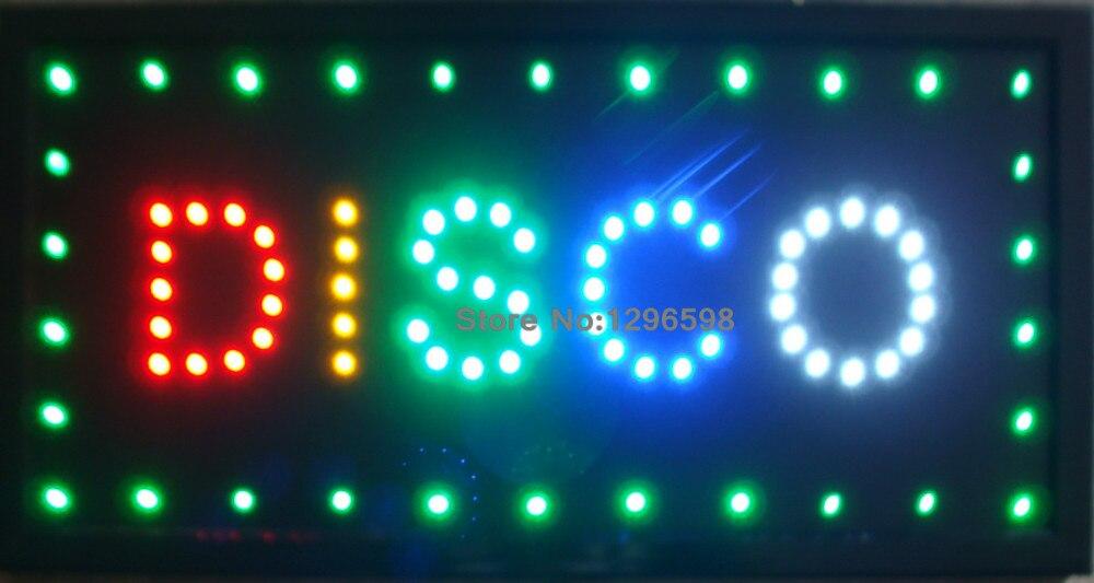 Letrero De Open: Led Disco Shop Open Neon Light Sign Board 2017 New Hot