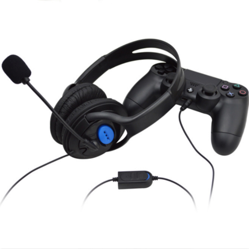 Brave669 3.5mm Stereo Wired Universal Gaming Headset Headphone Earphone with Microphone