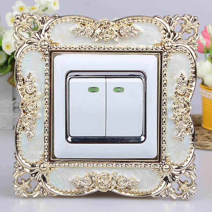 86 europese Switch pasta Smart cover Acryl woonkamer Socket mouw schakelpaneel Decorating mouw stofdicht