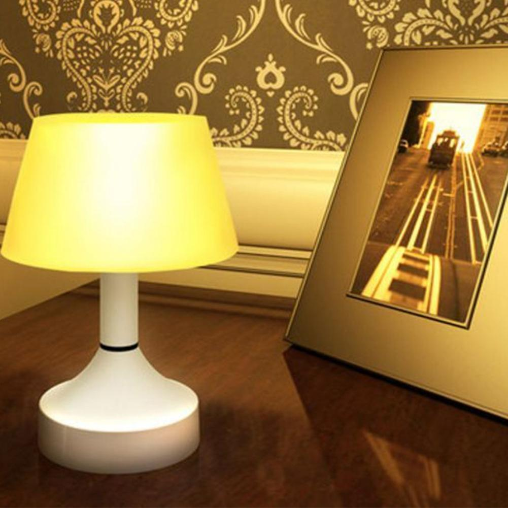 LumiParty Creative Energy-Saving USB Charging Switch On/Off Night Table Desk Light Lamp Living Room