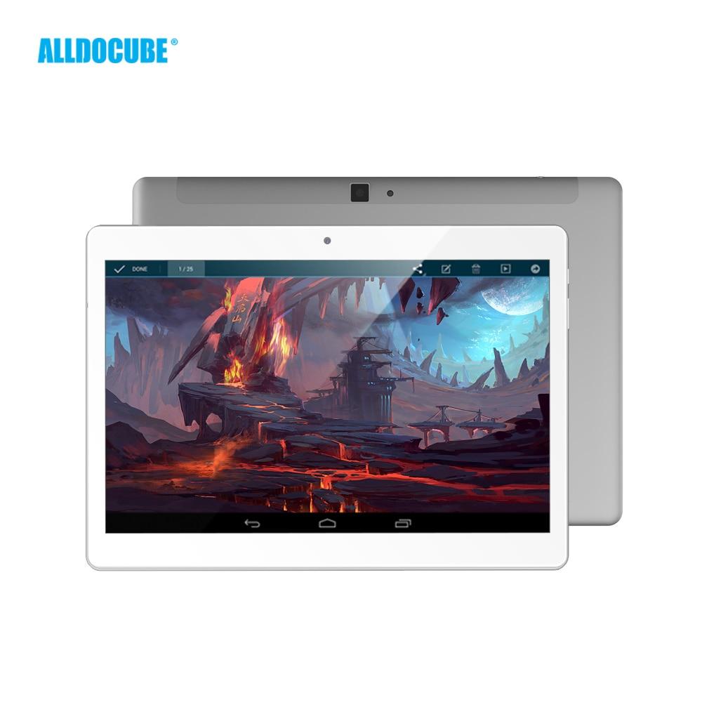 ALLDOCUBE M5 10,1 pulgadas 4G teléfono llamada Tablet PC 2560*1600 IPS Android 8,0 MTK X20 Deca core 4 GB RAM 64 GB ROM 5MP GPS Dual WIFI