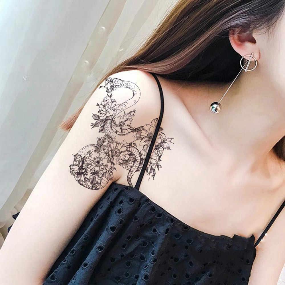 Glaryyears маленькая рука временная татуировка наклейка поддельные тату змея