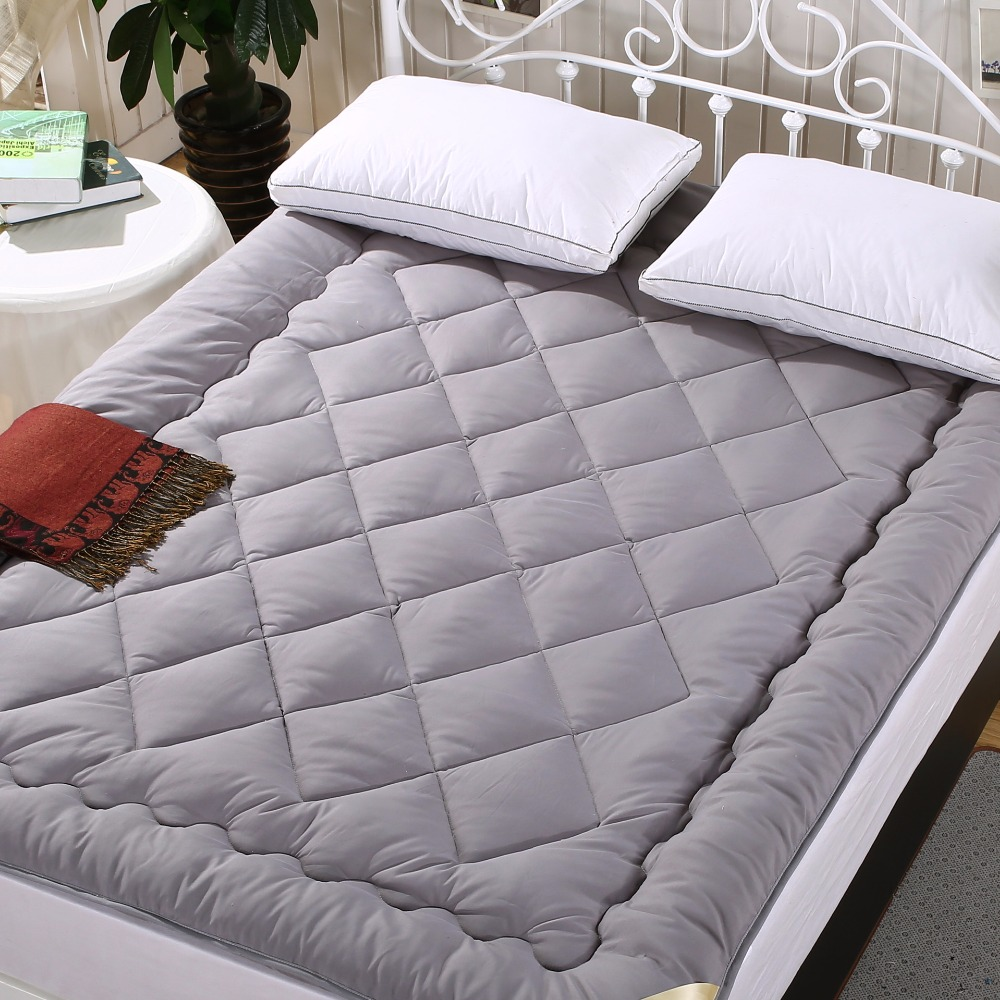 Sanding Fabric Bed Mattress Pad Sheets Double/Single Bed ...