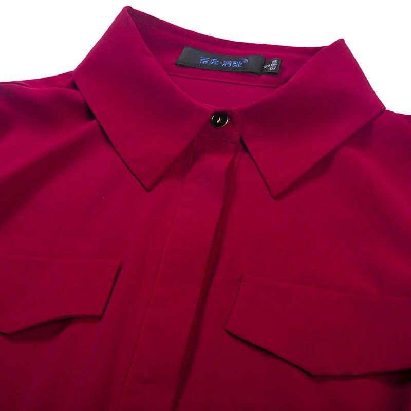 Fente Dr90025 De down Maxi Robe Mousseline Mode Turn longueur Grande Bureau Printemps Taille Soie Rouge Lady Tranchée Cheville Partie ZU0xnPpn