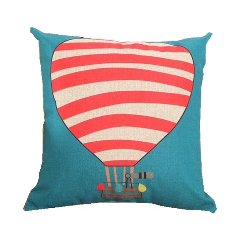 RUBIHOME Cartoon Design Cushion Covers No Filled Fire
