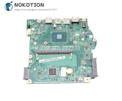 NOKOTION dla Acer aspire ES1-533 laptopa płyty głównej płyta główna w DDR3 z procesorem na pokładzie B5W1A B7W1A LA-D641P NBGH411001