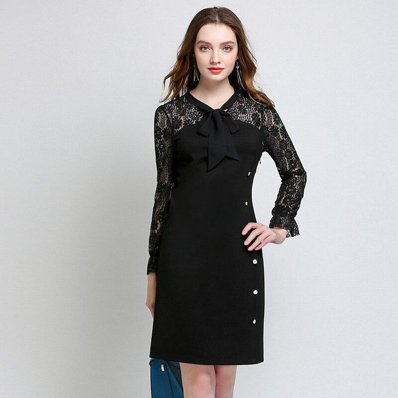 Aliexpress.com : Buy Plus Size Women Fall Dress Hollow Out