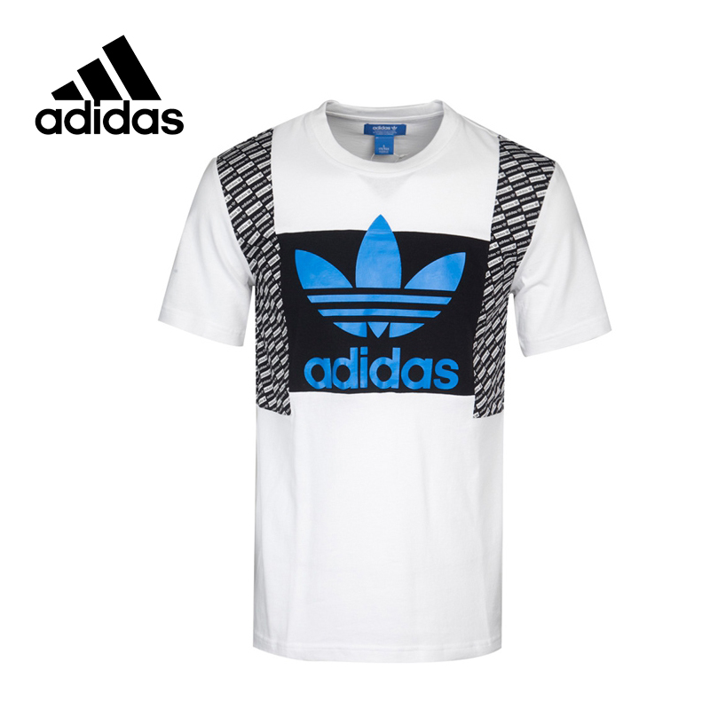 Original New Arrival Official Adidas Originals T-SHIRTS 2 LOND Men's T-shirts short sleeve Sportswear original adidas originals men s t shirts short sleeve sportswear