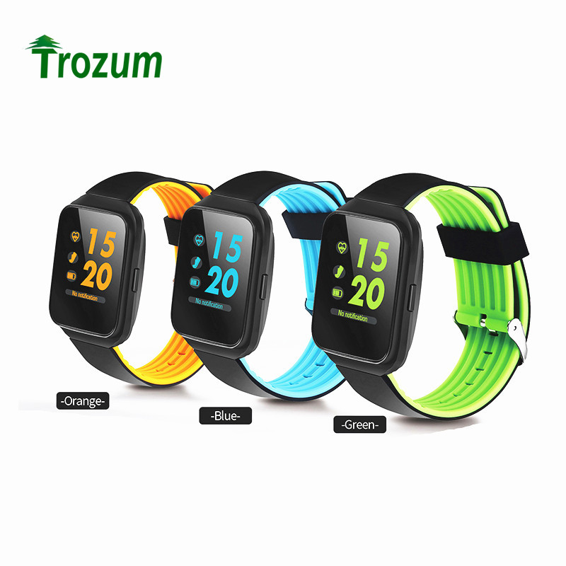 Trozum Z40 Smart BRACELET Blood Pressure Bluetooth Monitor Heart Rate Smart band  Message Reminder Wearable devices watch