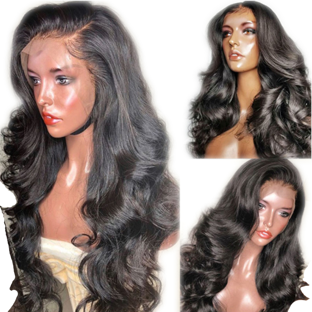 Eversilky Peruvian Human Hair Wigs Pre Plucked Lace Front Wig With Baby Hair For Black Women Silk Top Wig Body Wave Remy Hair
