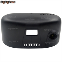 Cheapest prices BigBigRoad For BMW 5 series 528Li 530Li 540Li high edition Car wifi DVR Video Recorder Novatek 96655 Car black box dashcam