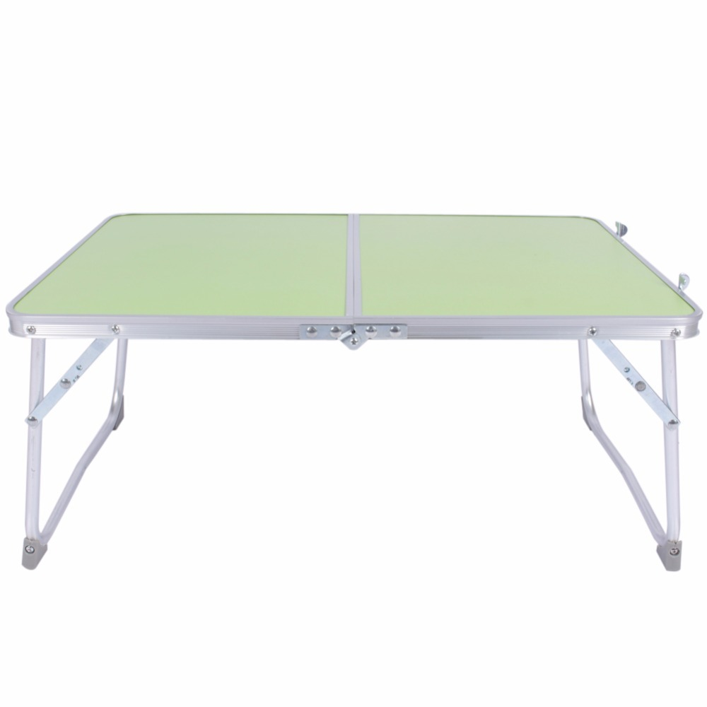 Portable Computer Picnic Desk Camping Folding Table Laptop Desk Stand PC Notebook Bed Tray Laptop Table Bureau Meuble JJ-FKDNZ9 1pc white multifunctional light foldable table dormitory bed notebook small desk picnic table laptop bed tray