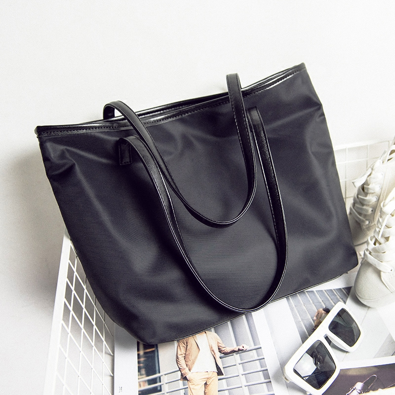 Compare Prices on Nylon Tote Bag with Zipper and Pockets- Online ...