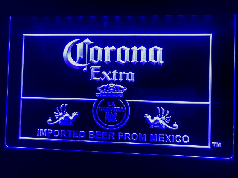 A040 Corona, Мексиканский пивной бар, паб, клуб, светодиодный неоновый светосветильник знак