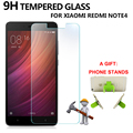 Tempered Glass Screen Protector For Xiaomi Redmi Note 4 9H 0.33mm AntiFingerprint Protective Film For Hongmi Note 4