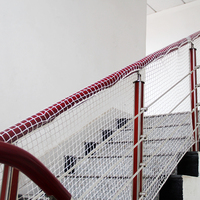 Railing Stairs Balcony Safety Protecting Net Baby Safety Fence Child Safety Household Nylon Rope Net Anti