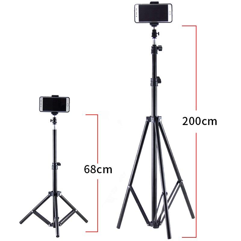 Hanmi Новый DSLR Камера Мобильный штатив Гора Света Стенд крепление штатива для телефона мини Камера телефон стороны штатив