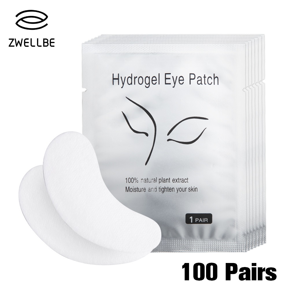 100pairs/pack Hydrating Eye Tip Stickers Wraps Eye Care Pad New Paper Patches Under Eye Pads Lash Under Eye Gel Patches(China)