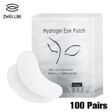 Nawilżające płatki pod oczy 100 par w paczce nowe papierowe podkładki pod oczy do rzęs żelowe i ochronne tanie tanio images Unisex CN (pochodzenie) 100 Pairs Lot Eye Gel Patches 100 Pairs Pack For Eyelash Extension No Odor Eye Gel Patches