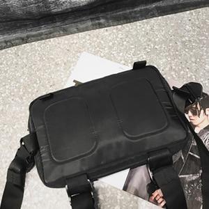 Image 3 - Mannen borst rig hip hop streetwear borst zak Vest Voor Mannen schoudertas Militaire Tactische Tactische Reizen Taille zakken Taille packs
