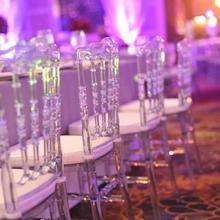 Свадебные хрустальные акриловые стулья Свадебные украшения Свадебные Поставки 4 шт./лот прозрачные чистые стулья