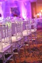 Cadeira de acrílico cristal de casamento decoração de casamento casamento abastecimento 4 pçs/lote Transparente cadeiras limpas