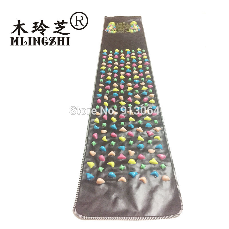 Reflexology Walk Stone Foot Leg Pain Relieve Relief Walk Massager Mat Health Care Acupressure Mat Pad massageador foot care massager health care plaster treatment heel pain stimulate the zb pain relief achilles tendinitis medical plasters