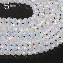 6mm Round Transparent Glass Beads Faceted Fallball Crystal Bulk Beads for Making Jewelry Bracelet Supply Wholesale Z172